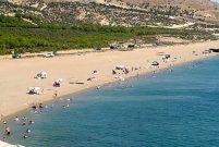Gökçeada'da 52 dönümlük kıyıya günübirlik tesis yapılıyor