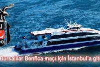 İDO, Beşiktaş – Benfica maçı için Bursa'ya ek sefer yapacak