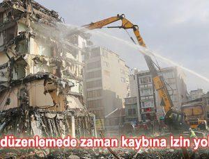 Kentsel dönüşümde inisiyatif kaldırıldı, bina zorla yıkılacak