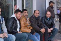 Malatya'nın soğuğunda iki gece bir gün TOKİ konutları nöbeti