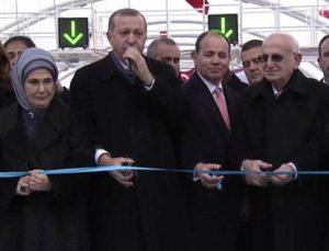 Cumhurbaşkanı Erdoğan Avrasya Tüneli'ni açtı