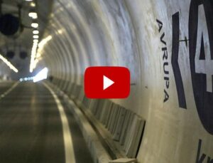 Avrasya Tüneli iki kıtayı 15 dakikada birbirine bağlıyor