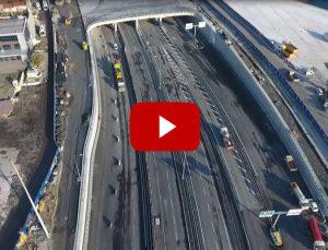 Avrasya Tüneli'nin Avrupa yakasındaki bağlantı yolları hazır!