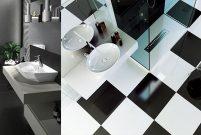 Bien Seramik'ten siyah-beyaza özel banyolar