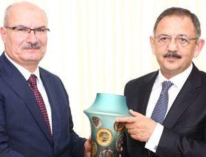 ATO'nun yeni yönetimi Bakan Özhaseki'yi ziyaret etti