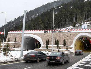 Başbakan Yıldırım, Ilgaz 15 Temmuz İstiklal Tüneli'ni açtı