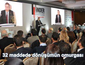 İNDER Kentsel Dönüşüm Çözümleri Konferansı'nın satırbaşları