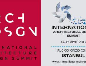 Mimari ve Tasarım Zirvesi İstanbul'da yapılacak