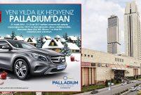 Palladium Ataşehir AVM'de çekilişle Mercedes Benz GLA 200!