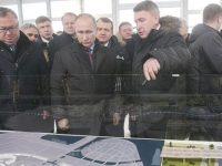IC İçtaş'ın St. Petersburg'taki projesini Putin hizmete açtı