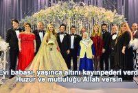 Sena Ağaoğlu Kırcal'ın düğün hediyeleri göz kamaştırıyor