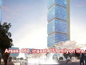 Halk GYO'nun İFM'deki kulelerini YDA İnşaat yapacak
