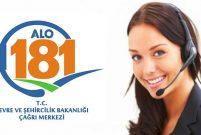 Vatandaş, Alo 181'e en çok kentsel dönüşümü sordu