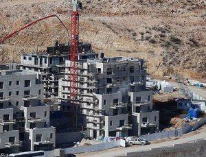 Filistin, İsrail'in yeni yerleşim birimi kararını kınadı