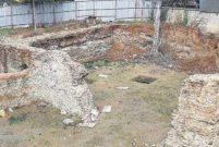 Kadıköy'deki inşaatın temelinden Bizans sarnıcı çıktı