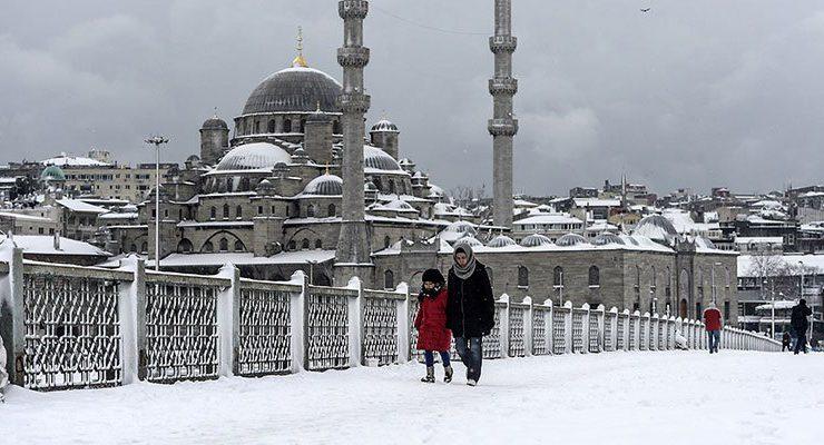 İstanbul'un karla imtihanı bu kez çok zorlu
