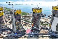 Doka UniKit'le yol değiştirmeden trafikte inşaata devam!