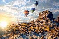 Kapadokya'nın yıllık ziyaretçisi 1 milyon 500 bine yaklaştı