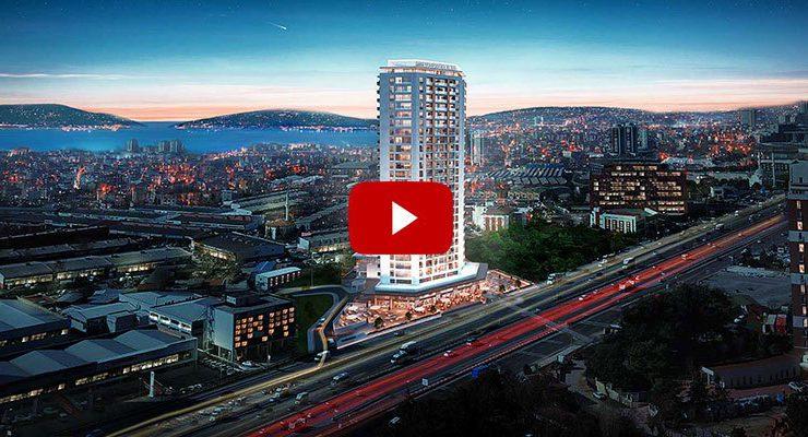 Marmara Kule E-5 üzerinde 32 katlı olarak yükselecek