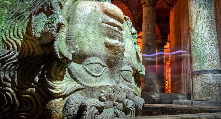 Medusa yapıldıktan 1500 yıl sonra kapsamlı restorasyonda