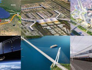 Mega yatırımlara iki yıl için 636 milyar TL kaynak ayrıldı