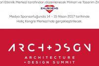Mimari ve Tasarım Zirvesi, ünlü isimleri ağırlayacak