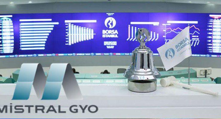 Mistral GYO, Borsa İstanbul'a hızlı girdi