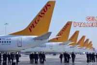 Pegasus hava muhalefetinden 2 günde 112 seferi iptal etti