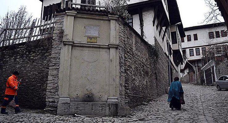 Safranbolu'daki 99 Osmanlı çeşmesinden sular akacak