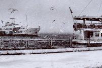 Boğaz gemi trafiğine kapandı, seferler iptal oldu