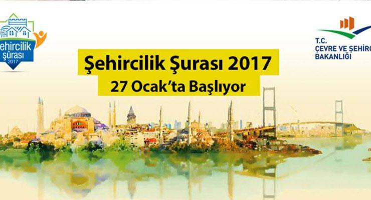 Şehircilik Şurası 27 Ocak'ta başlayacak