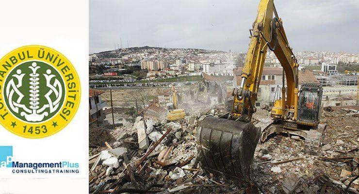 İstanbul Üniversitesi kentsel dönüşüm uzmanı yetiştiriyor