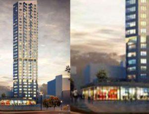 Şişli'ye 57,1 milyon TL'ye 31 katlı kule