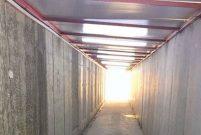 İzmir'deki Ege FETÖ Davası'nın duruşması için özel tünel yapıldı