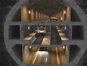 3 katlı tünelin etüt ihalesine 6 firma davet edildi