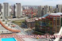 İstanbul'da geçen yıl en fazla konut Esenyurt'ta satıldı!