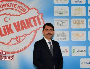Murat Kurum: İmkanlar temmuzdaki kampanyadan daha iyi