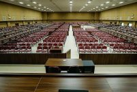 FETÖ'cü darbecilere 1558 kişilik duruşma salonu yapıldı