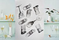 Jumbo cam dünyasından içecek servisi takımları