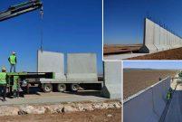 Suriye sınırındaki 911 kilometrelik duvarın 367'si tamam