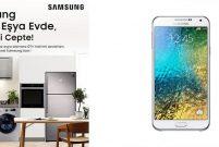Samsung, beyaz eşya alana akıllı telefon veriyor