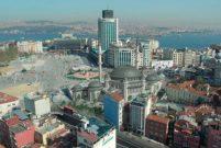 Taksim Camii'ni Sur Yapı yaptıracak