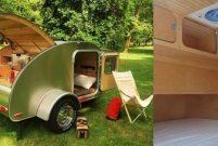 High Camp Trailers'in tekerlekli rezidansı hizmetinizde
