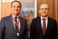 Mehmet Şimşek Uludağ Ekonomi Zirvesi'nde iş dünyasıyla buluştu