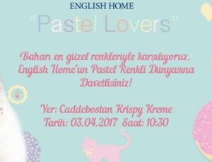 English Home, Pastel Lovers koleksiyonunu lanse edecek