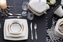 Karaca Fine Pearl Roller Yemek Takımı ile asil sofralar kurulur