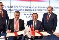Bakan Özhaseki İTO ile protokol imzaladı