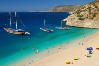 Türkiye'de en fazla mavi bayraklı plaj Antalya'da