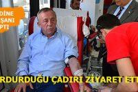 Ali Ağaoğlu şirketinde kan bağışı kampanyası başlattı