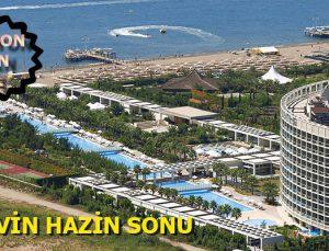 Kervansaray Oteli'nin üst kullanım hakkı icradan satılık
